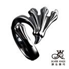 原生飾代SilverKings-舞爪之一-316L白鋼戒指
