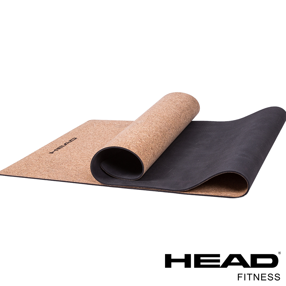 HEAD-HA718B 天然軟木雙層瑜珈墊 5mm-Cork Yoga Mat