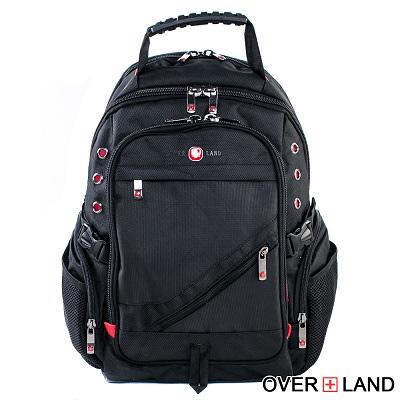 OVERLAND-美式十字軍x斜拉鍊設計後背包