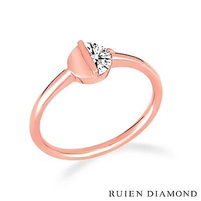 RUIEN DIAMOND 韓國輕珠寶 飾品 配件14K玫瑰金 戒指 LR085