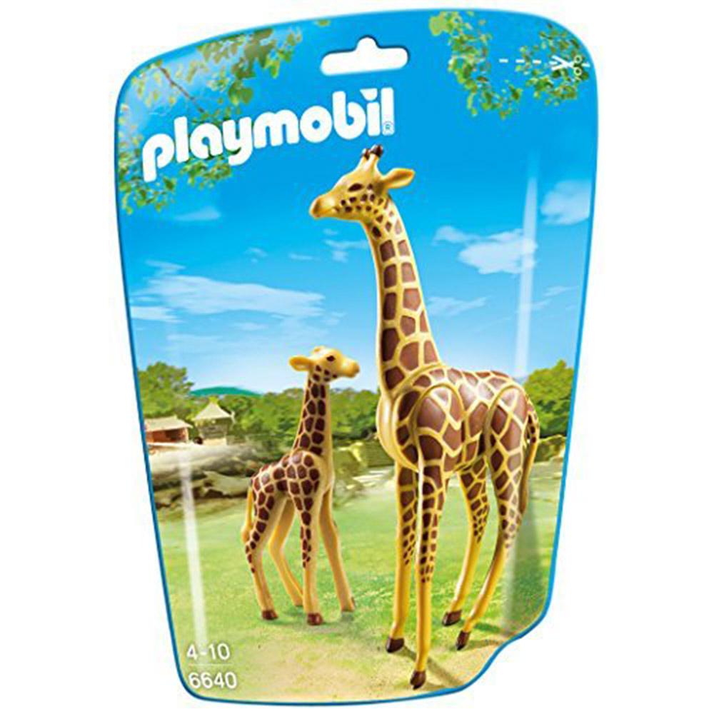 playmobil 可愛長頸鹿一家