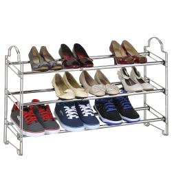 海克力士 堆疊式伸縮鞋架