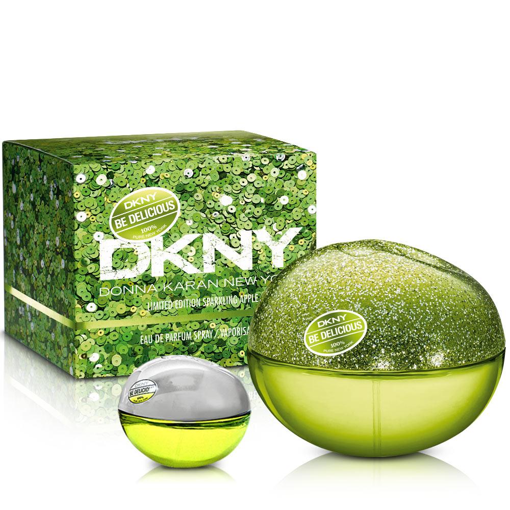 DKNY 晶耀青蘋果女性淡香精(50ml)-送品牌小香