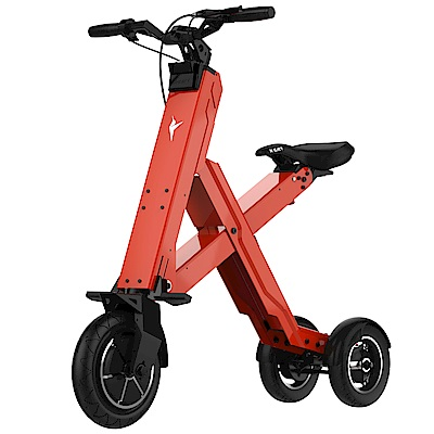 蜂鳥智能摺疊電動車X1 Cross 50公里版 紅色(安捷絲特公司貨)