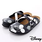 Disney迪士尼-Mickey軟木涼鞋款-FO64771黑(女段)