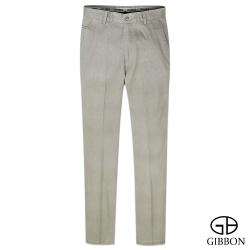 GIBBON 簡約水洗舒適平口休閒褲‧卡其31~42