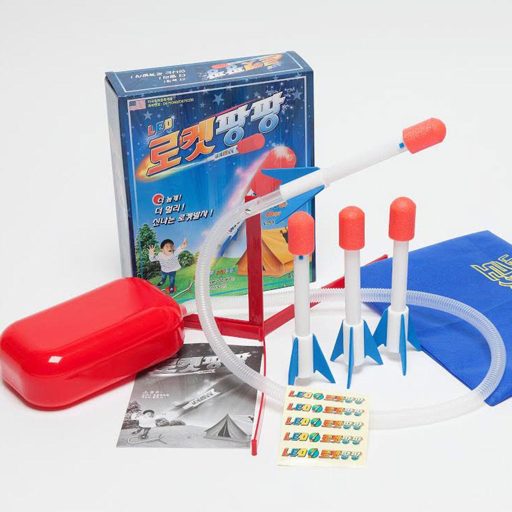 LOVIN 熱賣韓版勁爆野餐空氣火箭組 1組