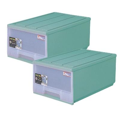 簡約主義大容量50L抽屜整理箱二入組