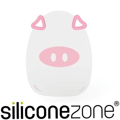 Siliconezone 施理康耐熱粉紅小豬造型矽膠砧板