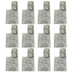 《Mr.Aqua》水族先生外掛式薄型過濾碳片 12pcs(160適用)