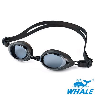 TRANSTAR 兒童泳鏡WHALE系-抗UV塑鋼鏡片-防霧純矽膠