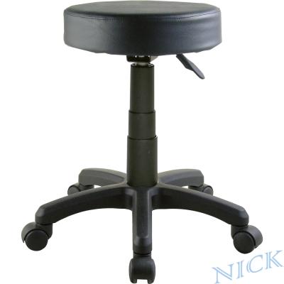 NICK 圓型活動輪吧檯椅 (三色)
