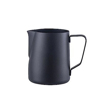 FUSHIMA富島 304不鏽鋼拉花杯600ML(黑色)