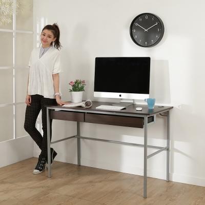 BuyJM簡單型防潑水低甲醛粗管雙抽屜工作桌(寬120cm)-DIY