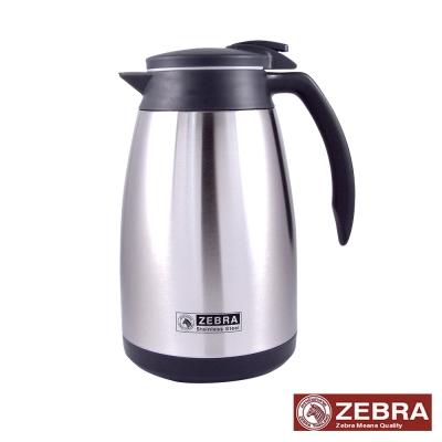 【Zebra 斑馬】不鏽鋼真空保溫壺 1.5L