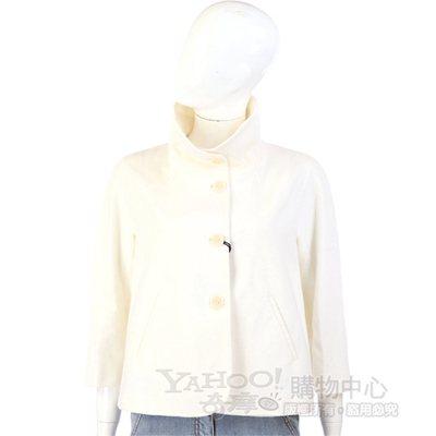 ANTONIO FUSCO 白色立領外套
