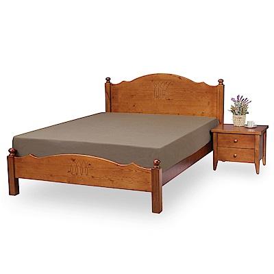 時尚屋 卡米爾3.5尺加大單人床架(不含床頭櫃-床墊)