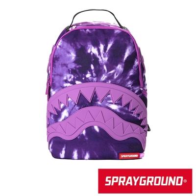 SPRAYGROUND DLX 系列 Purple Haze 紫色鯊魚潮流筆電後背包