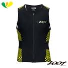 ZOOT 專業級全拉式肌能鐵人上衣(男) Z1706020(格紋黃)