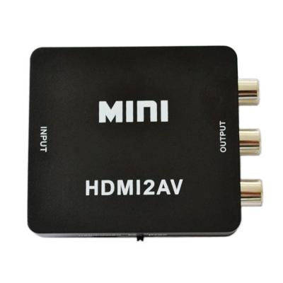 Usbelieve HDMI(1080P)轉AV音視頻 轉接盒/轉換器