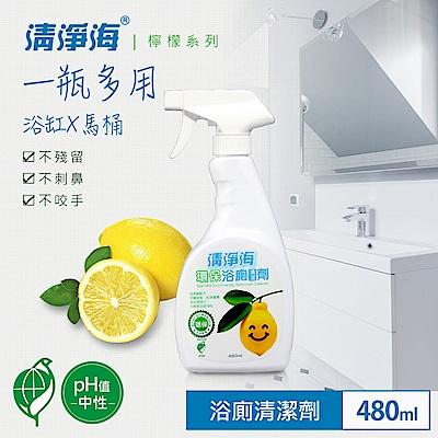 清淨海 環保浴廁清潔劑(檸檬飄香) 480ml