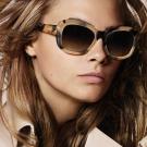 BURBERRY太陽眼鏡 時尚英倫/柔琥珀#BU4189F 350213