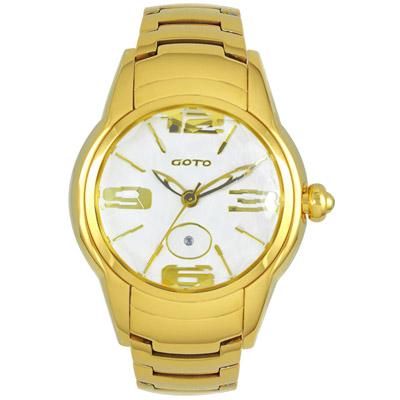 GOTO L.O.V.E系列腕錶-IP金/43mm