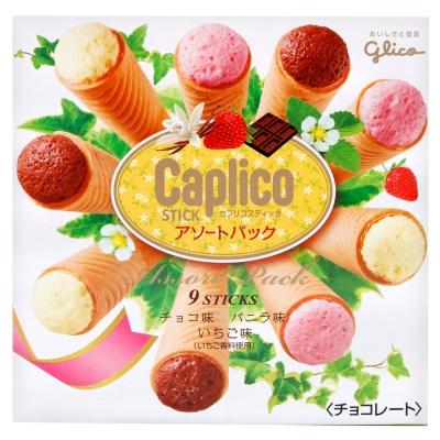 江崎glico 三色甜筒餅乾(78.3g)