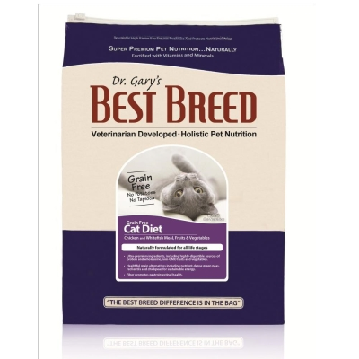 BEST BREED貝斯比《全齡貓無榖配方-BB4206GF》6.8kg