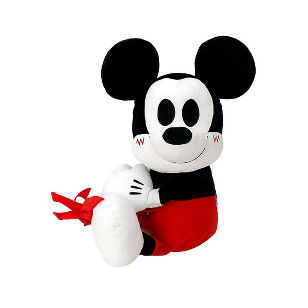 日版 Disney迪士尼 米老鼠 米奇 絨毛娃娃 造型後背包 A款