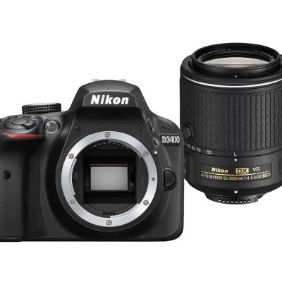 Nikon D3400+18-55mm+55-200mm VR II 雙鏡組*(平輸中文)