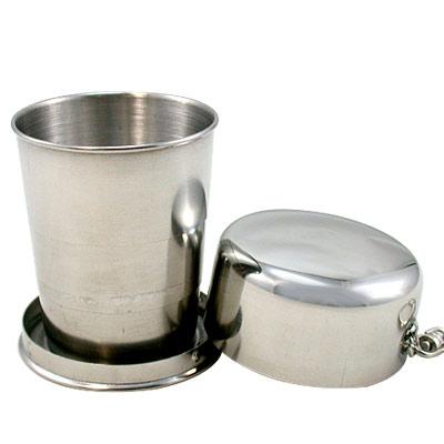 【iSFun】隨身攜帶*不鏽鋼迷你伸縮杯