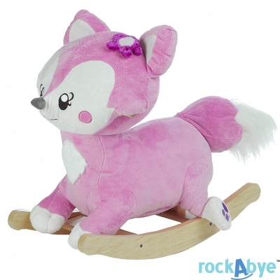 Rockabye 美國音樂搖滾玩偶搖椅 狐狸款