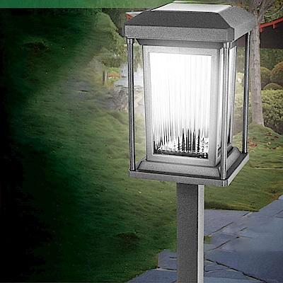 KINYO 高級金屬LED庭園燈-白光(GL-6035)