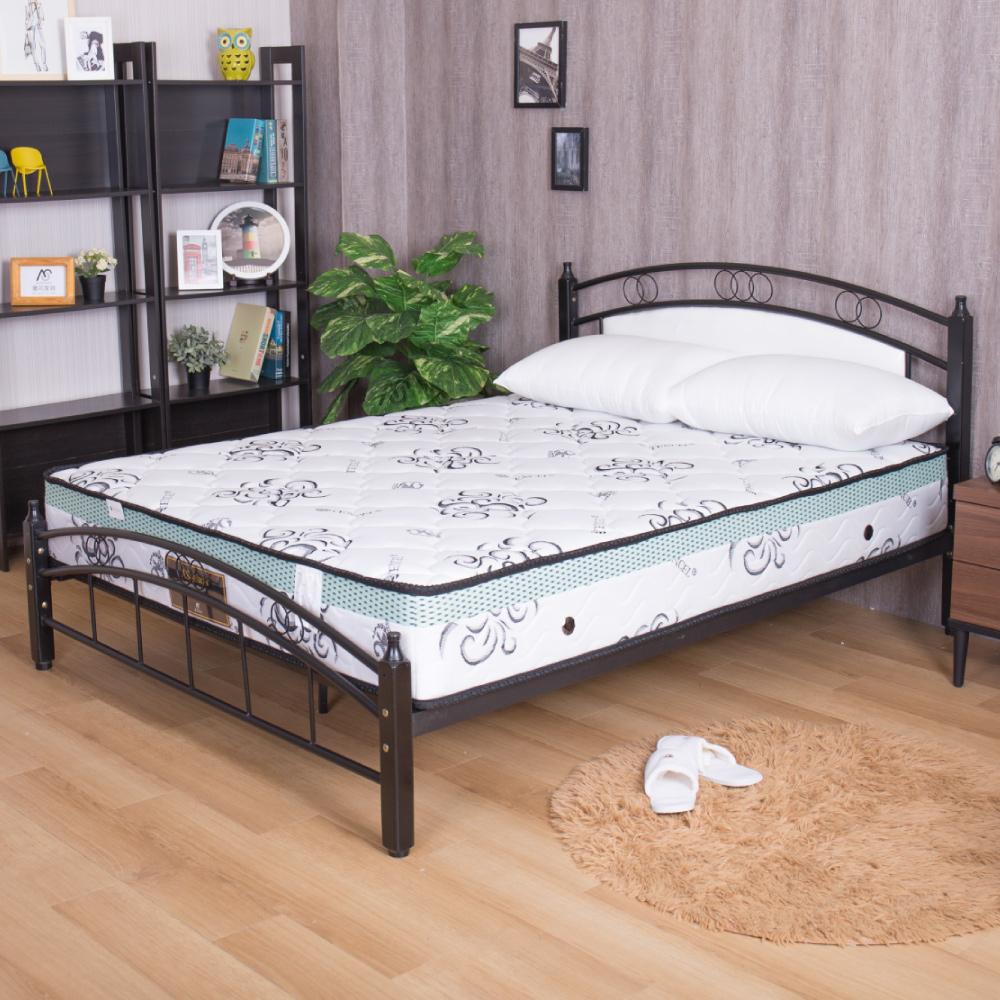 瑪莉提系列 白金透氣款-天絲布舒眠透氣硬式3尺獨立筒床墊
