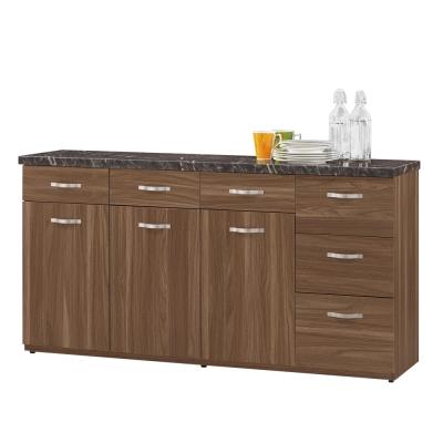 CASA卡莎 羅娜爾5.2尺石面餐櫃/收納櫃下座