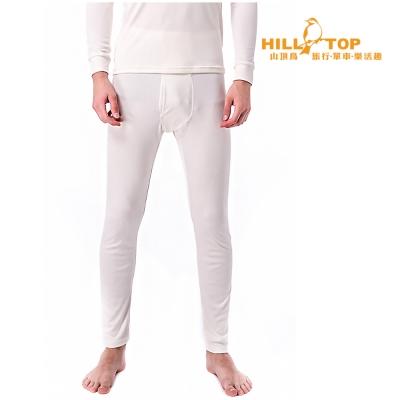 【hilltop山頂鳥】男款Thermolite吸濕衛生褲H57M45白