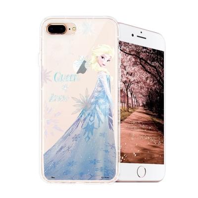 冰雪奇緣展場限定版 iPhone 8 plus/7 plus空壓殼(艾莎)