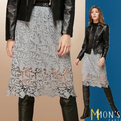 MONS 精緻蕾絲七分裙