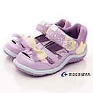 日本月星頂級童鞋 2E護趾涼鞋款 TW2049紫(小童段)