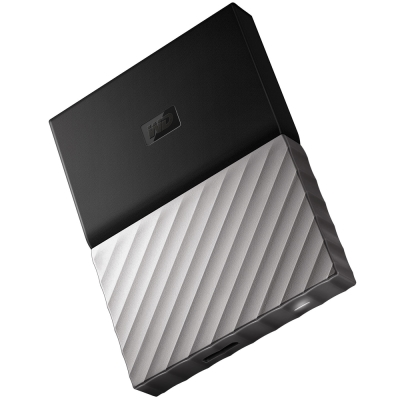 WD My Passport Ultra 4TB 2.5吋行動硬碟-黑銀