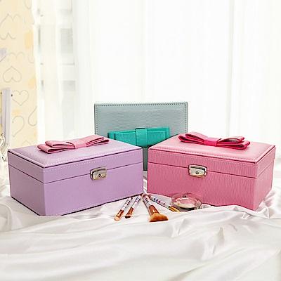 梨花HaNA 公主的玩具箱大蝴蝶結珠寶飾品收納盒