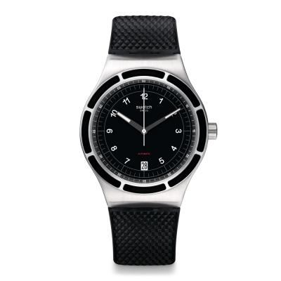 Swatch 51號星球機械錶 SISTEM DARK 機械酷黑手錶