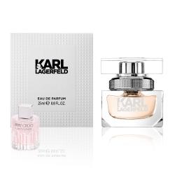 KARL LAGERFELD 卡爾同名時尚女性淡香精25ml(贈隨機小香乙瓶)