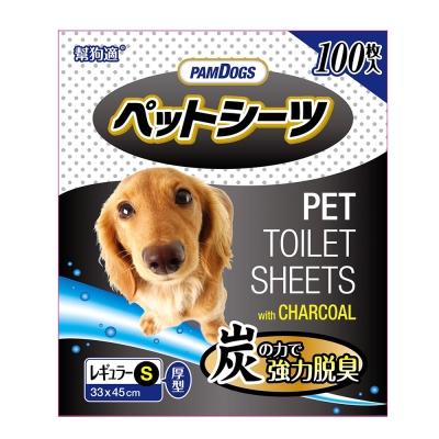 幫狗適 寵物竹炭尿布 100片入