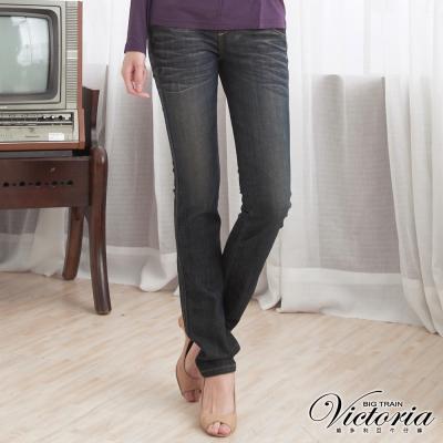 Victoria Victoria小直筒褲-女-深藍
