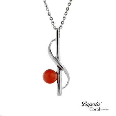 【大東山珠寶】全紅珊瑚項鍊墬飾 鴻圖大展