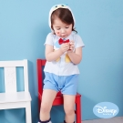 Disney Baby連帽唐老鴨造型連身裝 淺藍