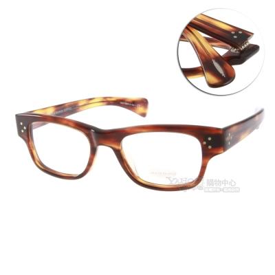 OLIVER PEOPLES眼鏡 好萊塢星鏡/彩紋棕#ALBERT-J 1095