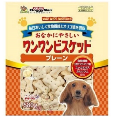 DoggyMan《寡糖添加原味消臭餅乾》580g